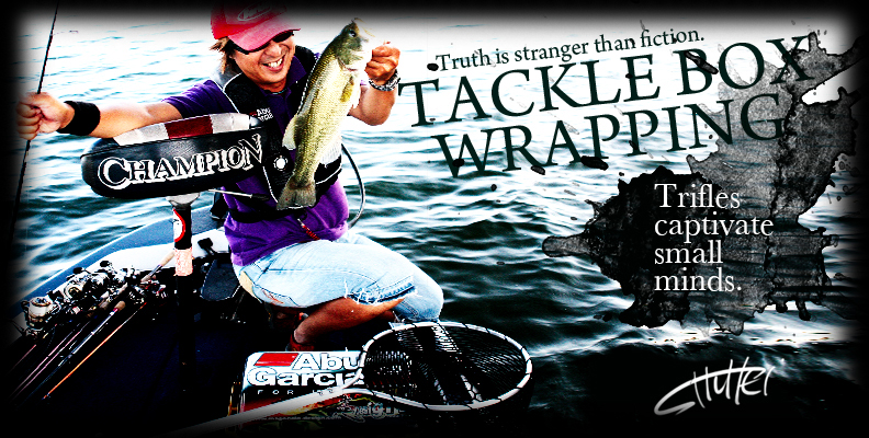 Tackle Box Wrapping